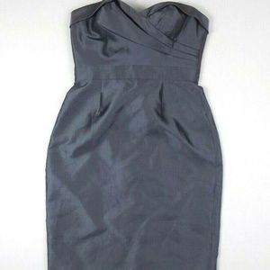 Adrianna Papell Womens Strapless Mini Dress 4